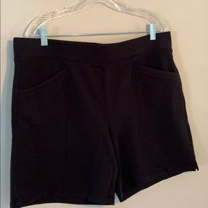 Talbots pull on terry cloth shorts